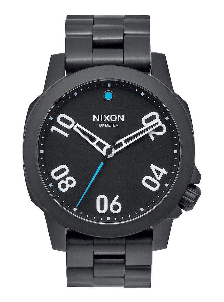 Reloj Nixon Ranger 40 All Black - Trakan