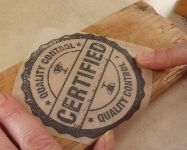 imprimer ou transf u00e9rer une image  un motif sur du bois