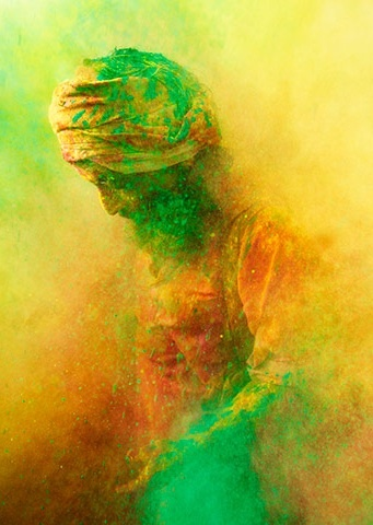 Holi Festival, India.  The full moon festival of Holika is a festival of merrymaking, announcing the start of spring. (photo only)