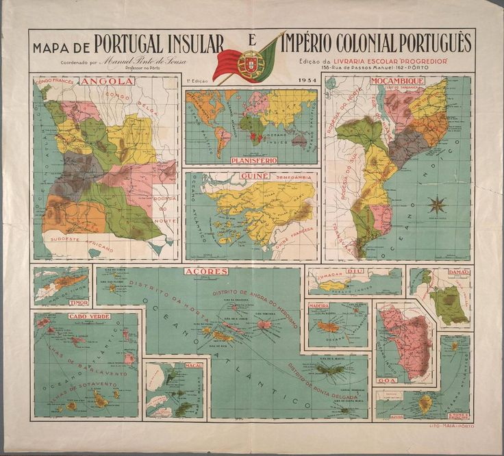 Portugal Insular e Ultramarino, 1934