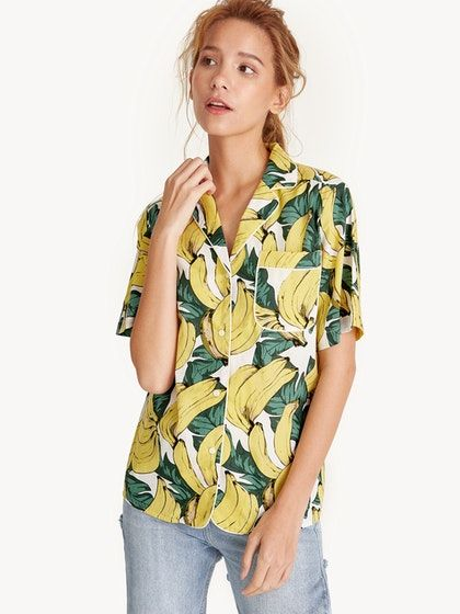 01c48840a4fdf Tropical Banana Shirt