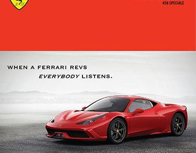 "Check out new work on my @Behance portfolio: ""Ferrari (Student Sample Work)"" http://on.be.net/1SKjgtU"