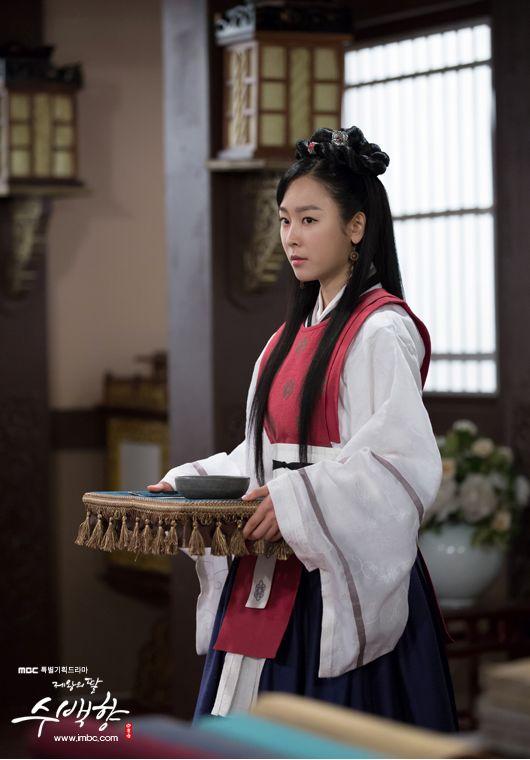 The King's Daughter, Su Beak Hyang (제왕의 딸 수백향) @ Koreanhistoricaldramas.com