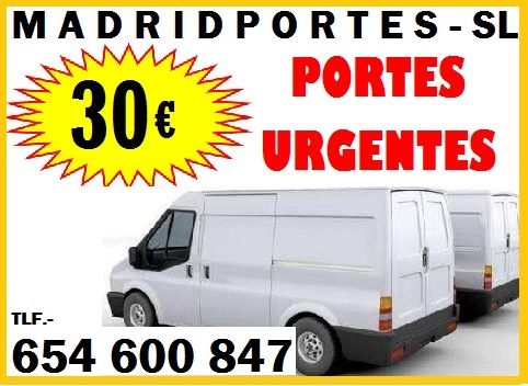 30€#MADRIDPORTES#FUENCARRAL 65,46OO847 PORTES EN MONCLOA,ARAVACA  MADRIDPORTES##654-60-0847*EMPRESA ECONOMICA A LA QUE USTED PUEDE CONFIAR SUS PERTENENCIAS. *MUDANZAS Y TRANSPORTES, MADRID Y ALREDEDORES: PARLA, COLMENAR VIEJO, ETC… *PORTES EN MONCLOA, ARAVACA DE PORTAL A PORTAL= DESDE  30 EUROS **PROFESIONAL DE DESMONTAJE Y MONTAJE - **FURGONETA CON CONDUCTOR A DOMICILIO CAMBIO DE TRASTEROS OFICINAS**EN MADRID-MONCLOA, ARAVACA, FUENCARRAL, EL PARDO, ETC. BARATOS.**  PORTES EN MONCLOA, MADRID