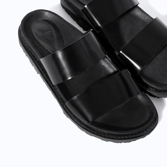 Image 4 of SANDALS WITH STRAPS from Zara