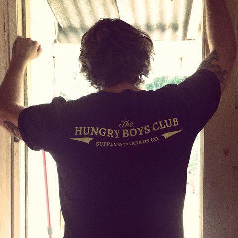 THE HUNGRY BOYS CLUB STAPLE TEE