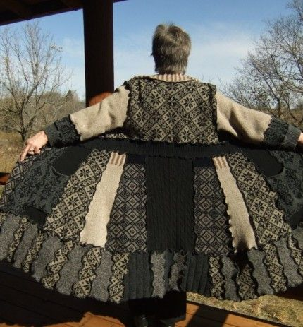 17 Best Images About Altered Upcycled Sweaters On