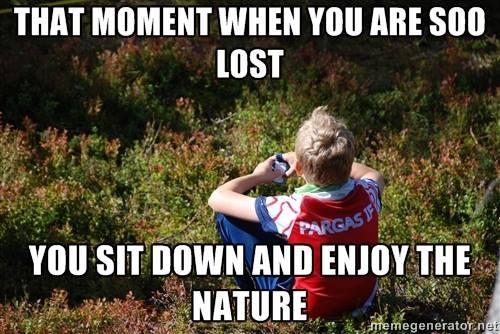 Orienteering Memes on FB