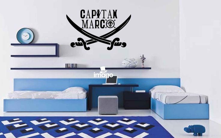 Wall Stickers Capitan Pirata