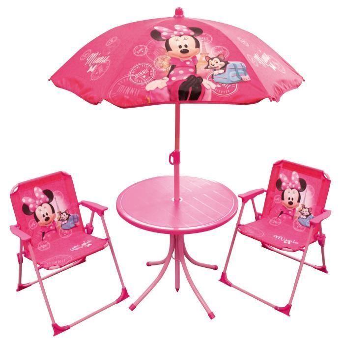 Table Et Chaises En Plastique Pour Enfants Decor Deco Patio Umbrella