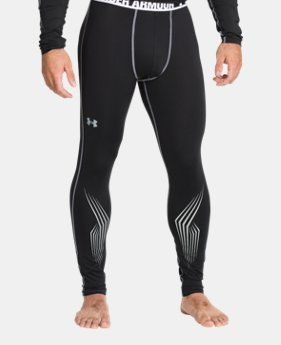 Men's UA Hockey Grippy Fitted Leggings