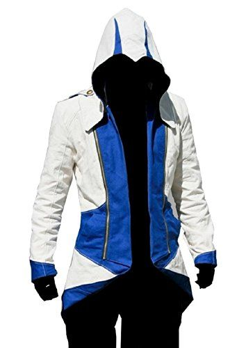 TEENTAGE Assassin's Creed 3 Connor Kenway Hoodie Jacket T...