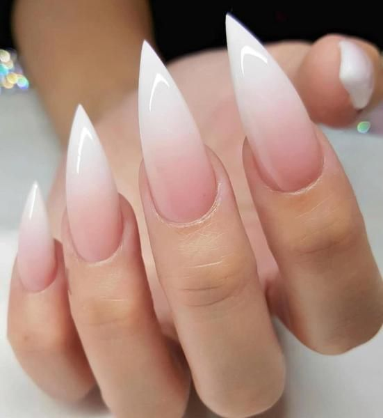 30 cool and trendy stiletto nail art designs; Stiletto Nail Designs; Bling Stile…