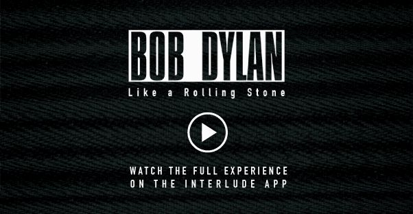 """Bob Dylan """"Like A Rolling Stone"""" - Official Interactive Video!"""