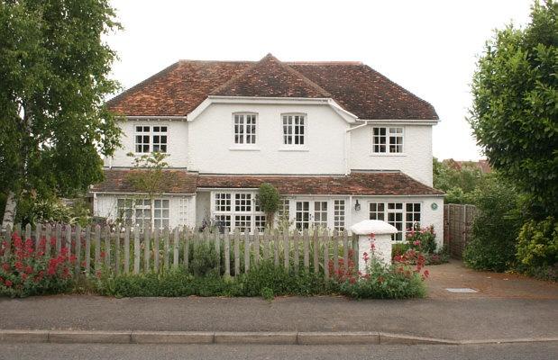 Letchworth Garden City in Hertfordshire