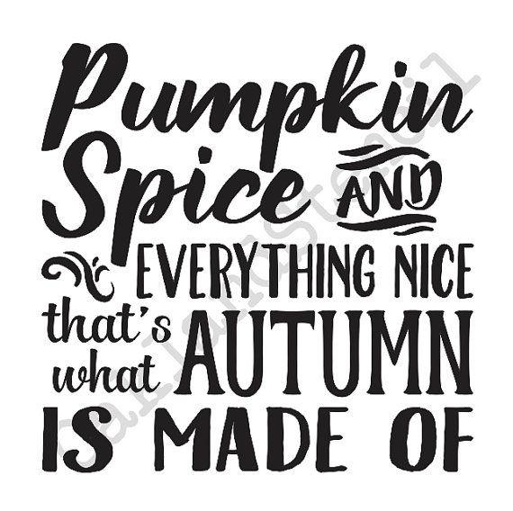 PLANTILLA primitivas de otoño/otoño  calabaza por OaklandStencil