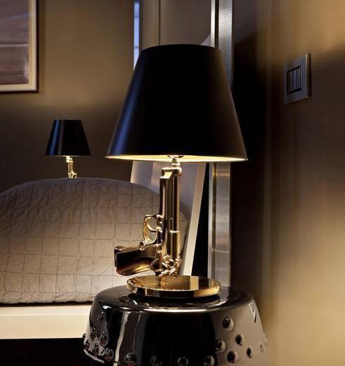 Philip Stark Bedside Gun Lamp