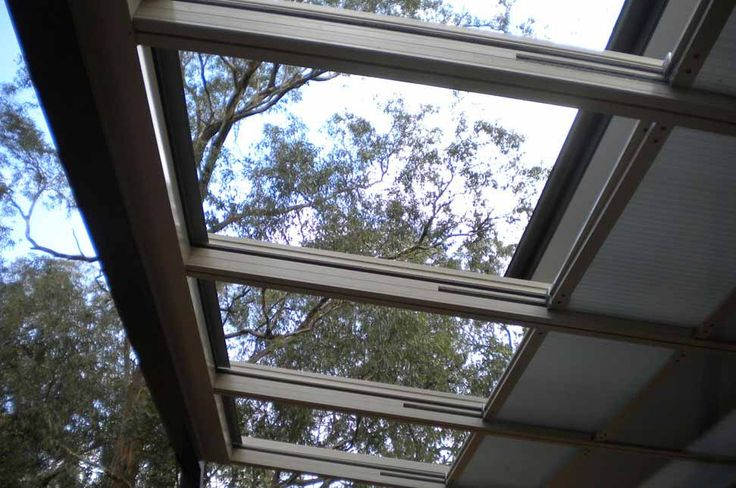 Retractable Roof - Residential - Open