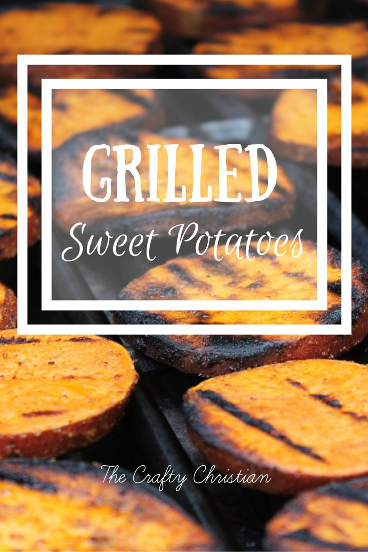 Grilled sweet potatoes! Even better than sweet potato fries, TRUST ME.  These are so amazing, and so healthy.  Not to mention paleo, and definitely clean eating! YUM!
