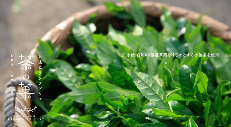 京 宇治 白川の厳選茶葉をはじめとする宇治茶を使用。