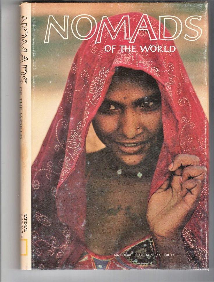 Nomads of The World 1971 National Geographic Society HC DJ VG