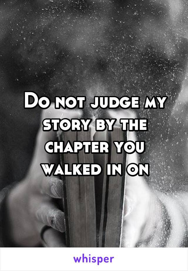 Oh so true! Some of my chapters have been a bit hazy, but don't judge me on a poor chapter