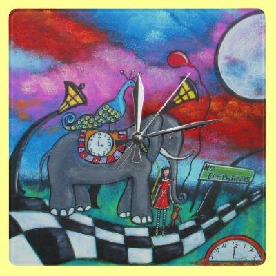 End Of Innocence Clock by juliryan
