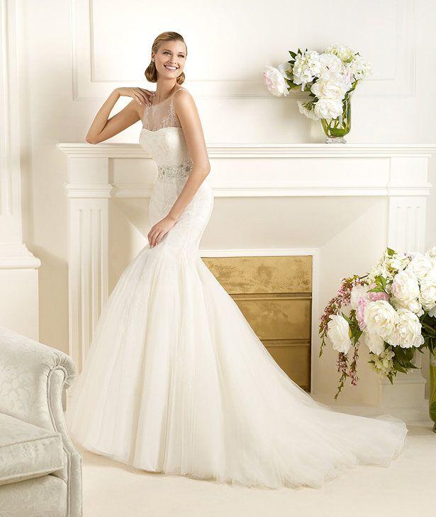 101 best Designer Brautkleider images on Pinterest   Wedding frocks ...