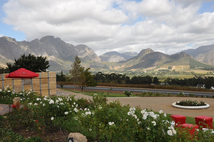 Haute Cabriere Wine Estate - Franschoek, South Africa