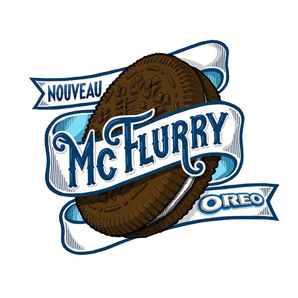 McDonalds McFlurry / Tyrsa on Behance