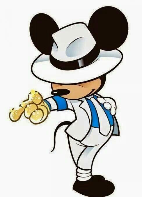Michael Jackson Mikey Mouse