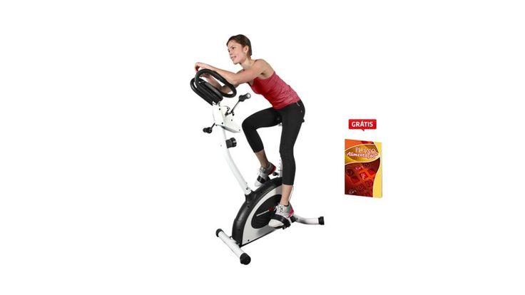 Conquiste um corpo forte e definido com a CRANK BIKE 4X! Você irá queimar gordura, reduzir medidas, fortalecer o corpo e tonificar todos os músculos s