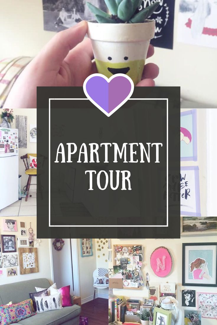 Ever wonder what my apartment looks like? Watch a tour on my YouTube channel! xxo