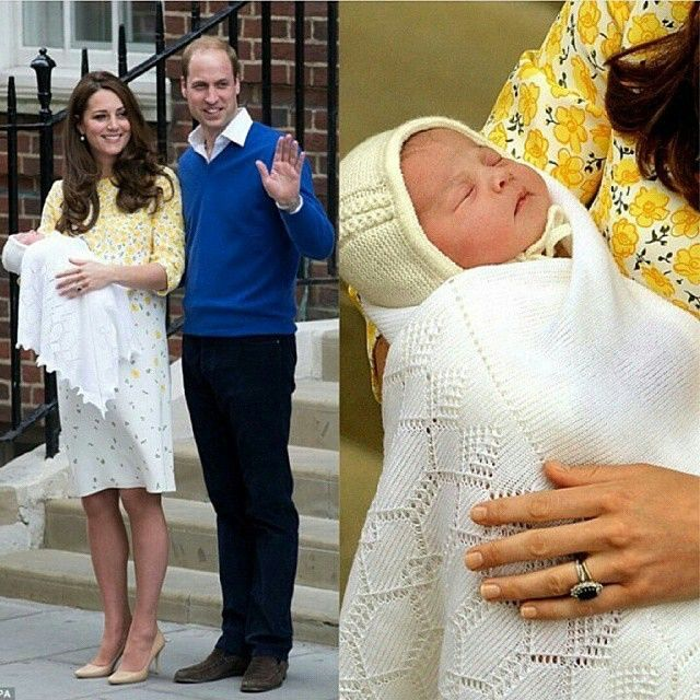 Congratulations William and Kate on the arrival of your gorgeous Princess. #RoyalBaby