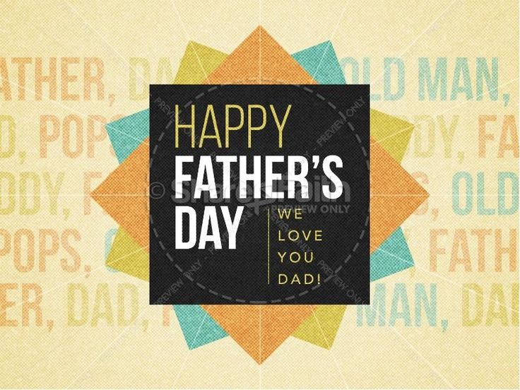 father's day powerpoint template free