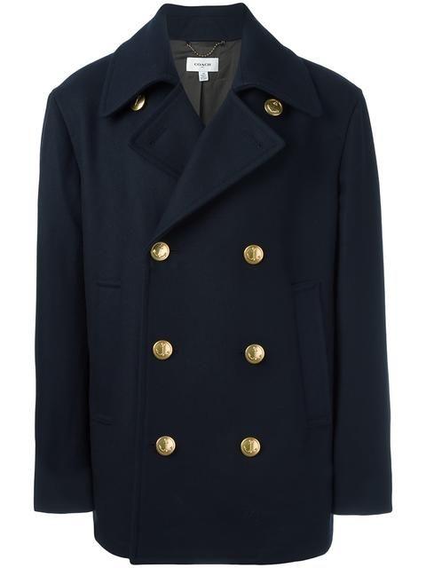 COACH 'Marines' Coat. #coach #cloth #coat