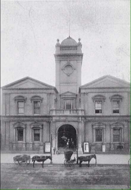 Maitland Town Hall, High Street, Maitland, NSW (Photo undated). possible ca.1900. v@e