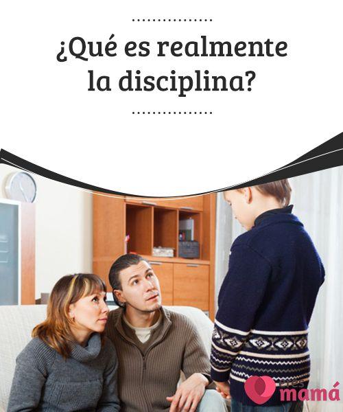 ¿Qué es realmente la #disciplina? La disciplina es un tema recurrente en la #educación de los #niños, muchos padres se preguntan cómo #enseñarla a sus hijos, o si están actuando bien