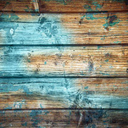 Amazon.com : StudioPRO Heavy-Duty Photography Vinyl Backdrop Background Worn Aqua Painted Wood Floor - 3 ft x 3 ft : Camera & Photo