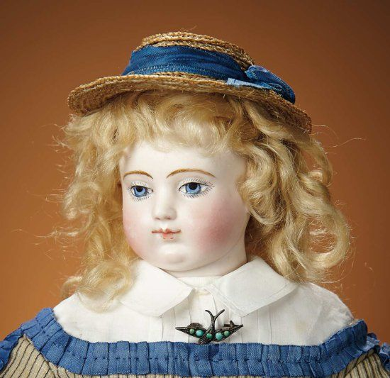 Beautiful French Bisque Poupee... Auctions Online | Proxibid