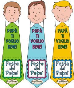 segnalibri per la festa del papà