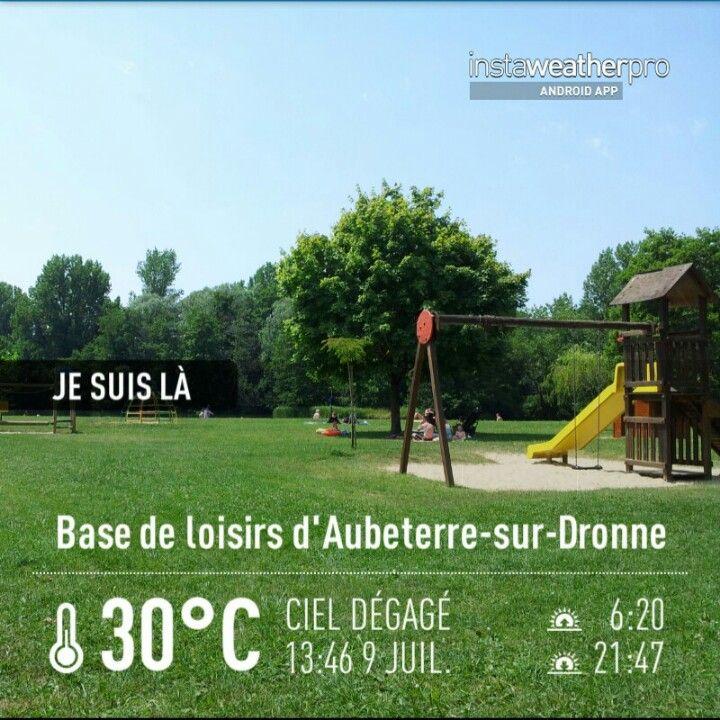 Base de loisirs d' Aubeterre-sur-Dronne