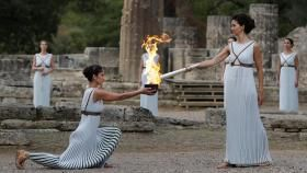 The Olympic flame was lit in Olympia, Greece today, marking the start of the PyeongChang 2018 Olympic Torch Relay. The...