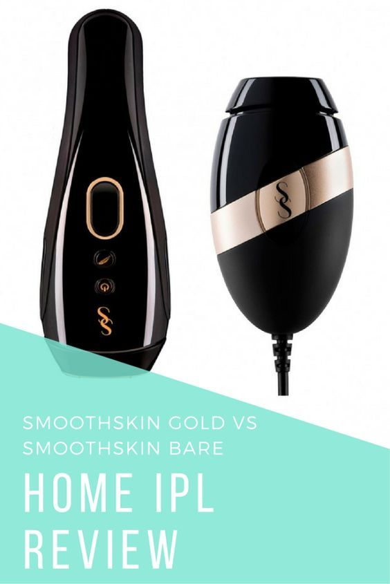 SmoothSkin Gold VS SmoothSkin Bare IPL Review   Permanent Hair Removal   Hair Removal IPL / Laser   Hair Removal Products