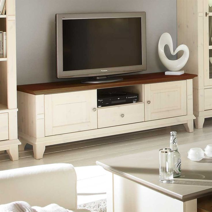 Fresh Billig tv m bel wei landhausstil