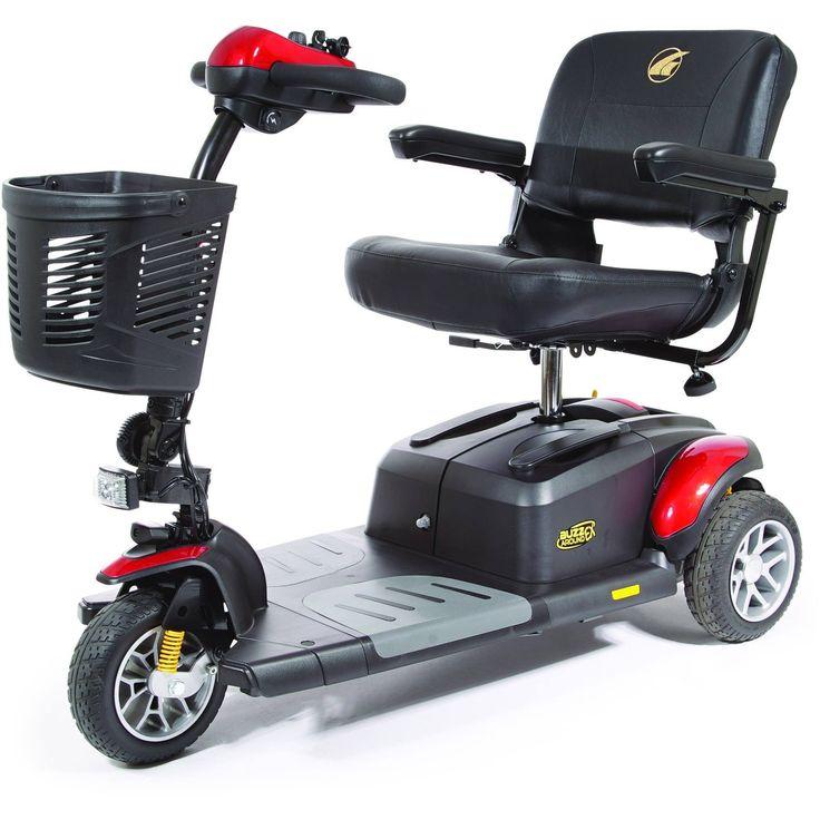 Golden Tech Buzzaround Ex (GB118D) 3 Wheels Scooter