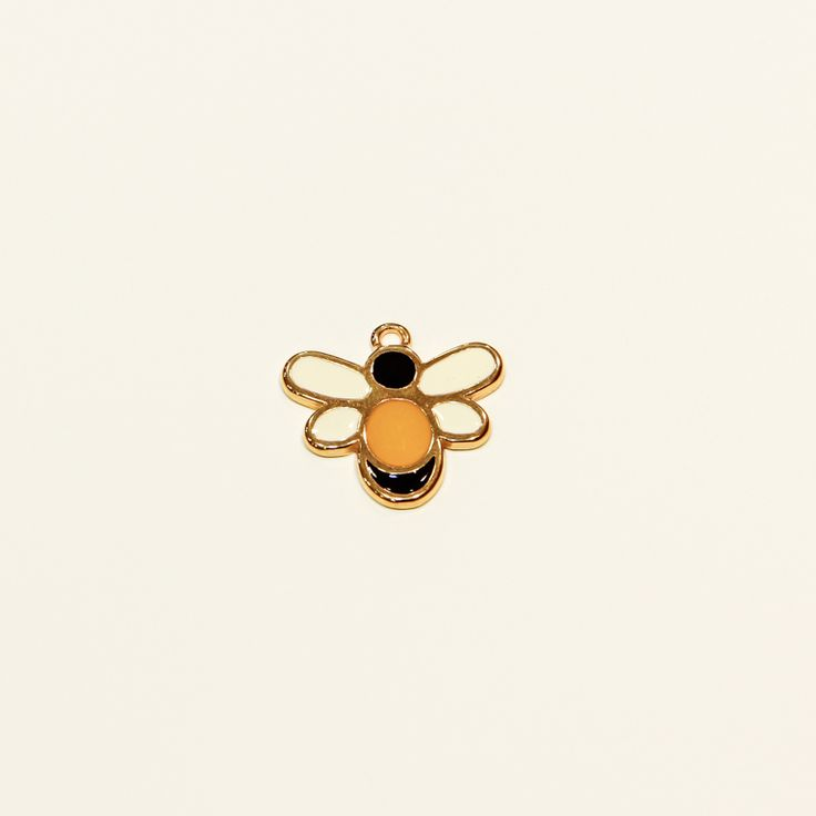 Μέλισσα Σμάλτο(2.5x2.5cm)