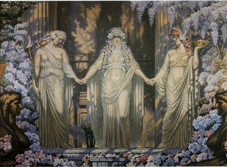Jean Delville, Women of Eleusis