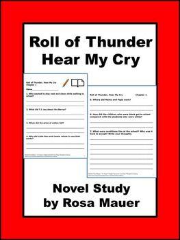 Roll of Thunder, Hear My Cry Critical Essays