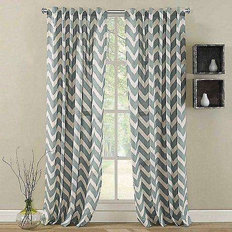 Zigami Rod Pocket Window Curtain Panel